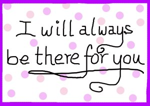 ISL_I will always be there for you